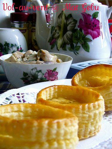Dapur Tanpa Sempadan...: VOL-AU-VENT & HOME-MADE PUFF PASTRY.