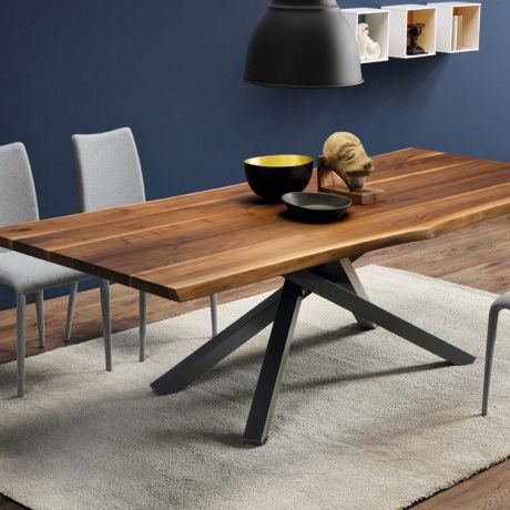 Table design en bois - Pechino Midj® - 1