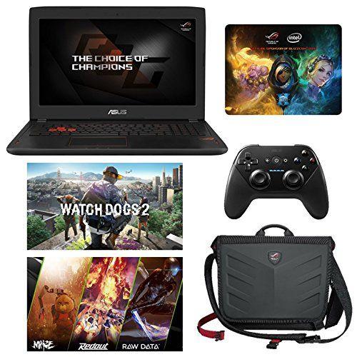 """ASUS ROG STRIX GL502VM-DB74 (i7-6700HQ, 16GB RAM, 256GB NVMe SSD + 1TB HDD, NVIDIA GTX 1060 6GB, 15.6"""" Full HD, Windows 10) Gaming Notebook. Display: 15.6"""" Full HD (1920 x 1080) Matte Display w/ NVIDIA® G-Sync   Graphics Card: NVIDIA® GeForce® GTX 1060 6GB GDDR5. Processor: 6th Gen Intel® Skylake Core i7-6700HQ Quad Core (2.6GHz-3.5GHz, 6MB Intel® Smart Cache, 45W). RAM: 16GB DDR4 2133MHz (8GB Onboard + 8GB)   Hard Drive: 256GB Samsung 950 PRO NVMe SSD (Seq. Read 2200MB/s, Seq. Write..."""