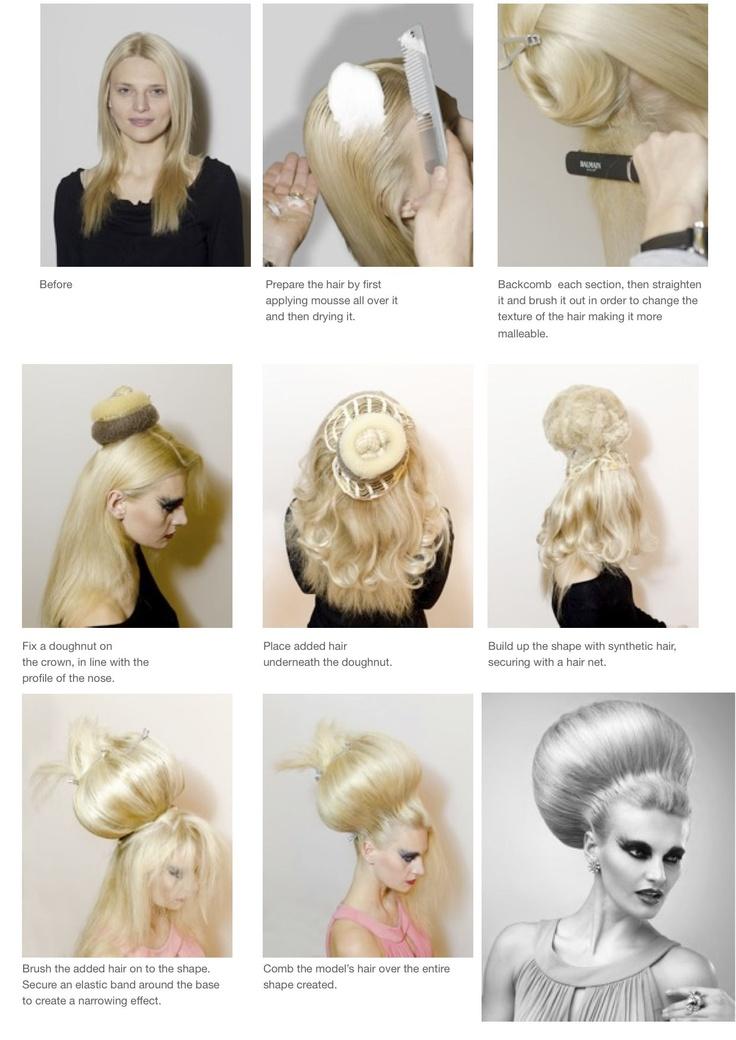 The Ball,  Hair by Anne Veck