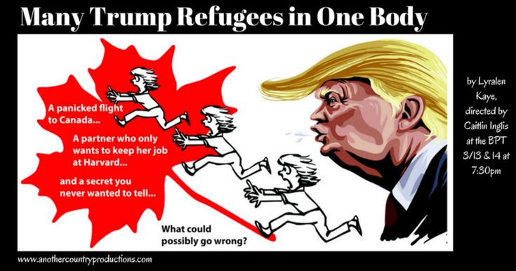 Taking our immigration comedy on the road! | Check out 'Many Trump Refugees in One Body' on Indiegogo.
