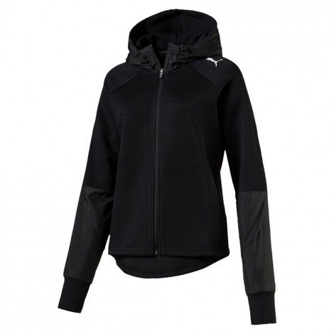 6c1809b99e2 ... De Wit Schijndel. Puma Evostripe Full Zip vest dames puma black