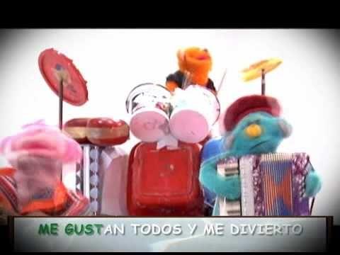 LOS PIMPOLLOS - Los Instrumentos musicales - YouTube