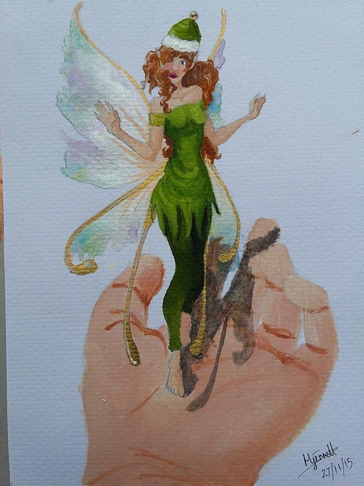Entry 34 'Fandri-La' by Hecate Jerrett #fairy #fantasy #art