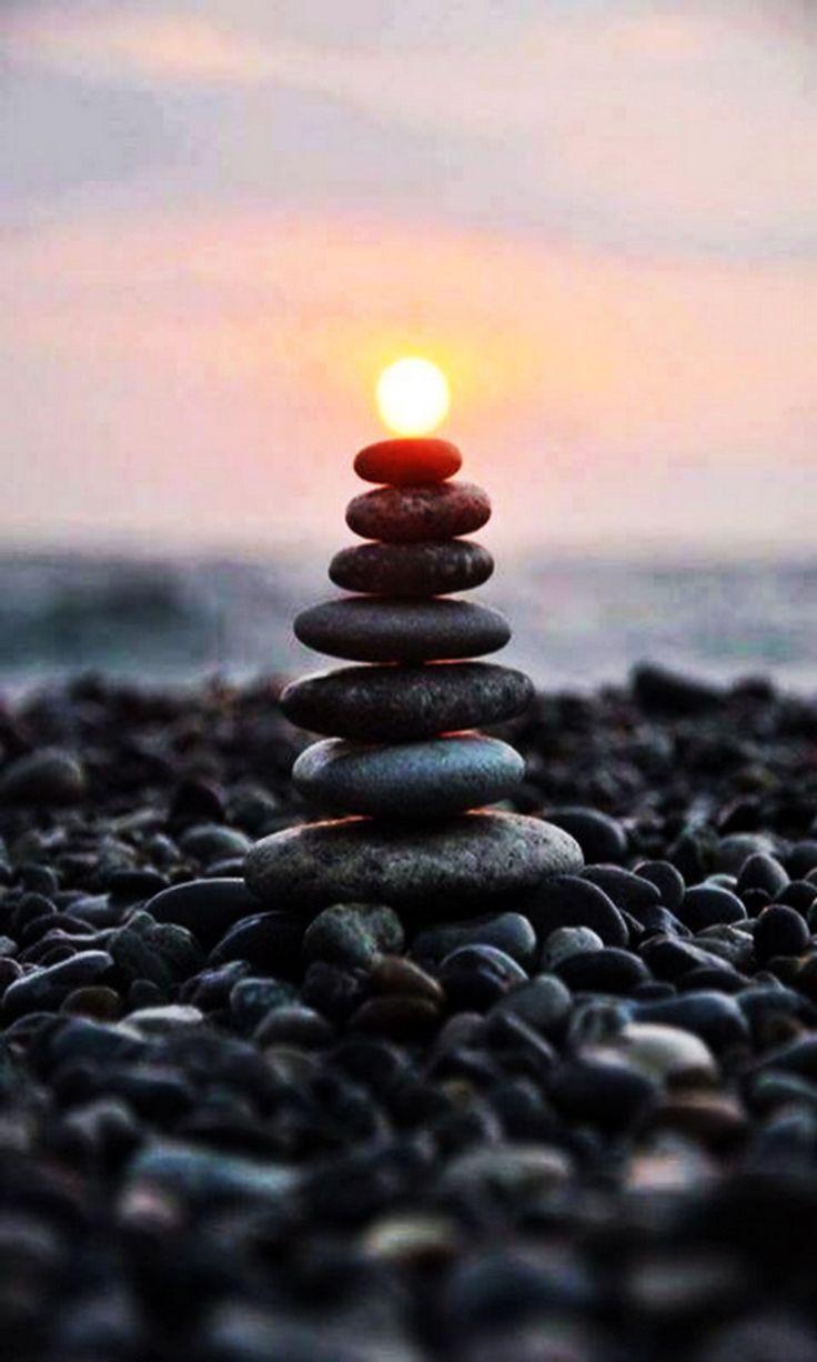 Zen Stones Smart Phone Wallpaper and Lock Screens