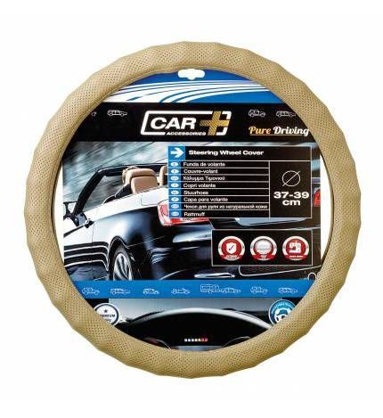 #Funda de #volante X-tra Luxe,Funda de volante X-tra Luxe, para proteger el volante de tu coche a la vez que le das un toque diferente. Te ayudará en la conducción gracias a su comodidad en el agarre. 37 a 39 cm Fácil de instalar Ergonómica. 13,95€. todastuscompras.com