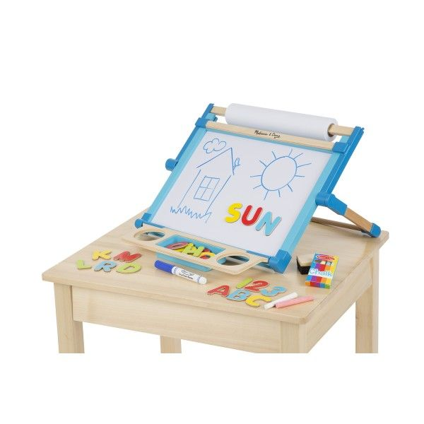 Wooden Double -sided table-top easel  #Dragonello