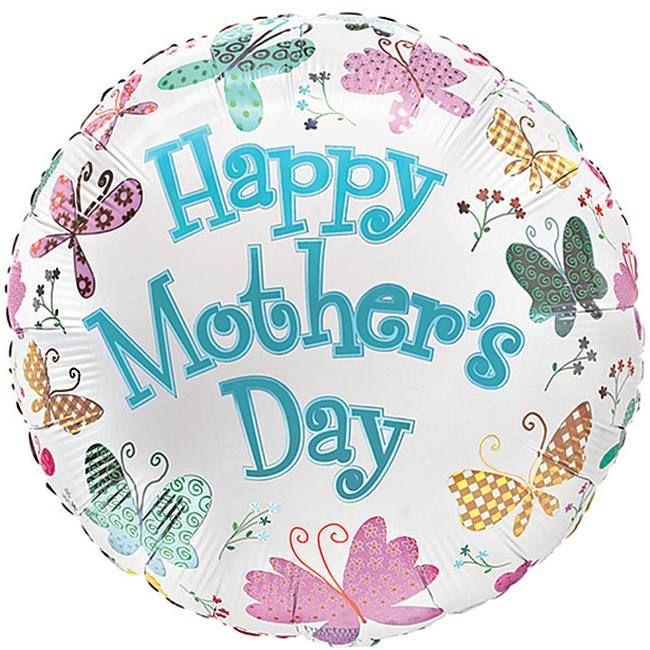 Flutterbys Happy Mothers Day Foil Balloon Happy Mothers Day Diy Mother S Day Decorations Happy Mothers