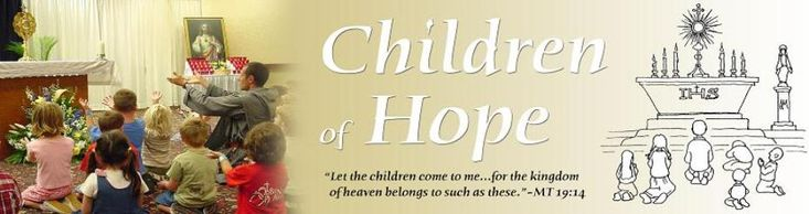 Children of Hope - Eucharistic adoration for children (short format)