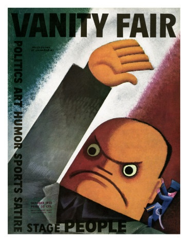 vanity fair cover 1932 - miguel covarrubias