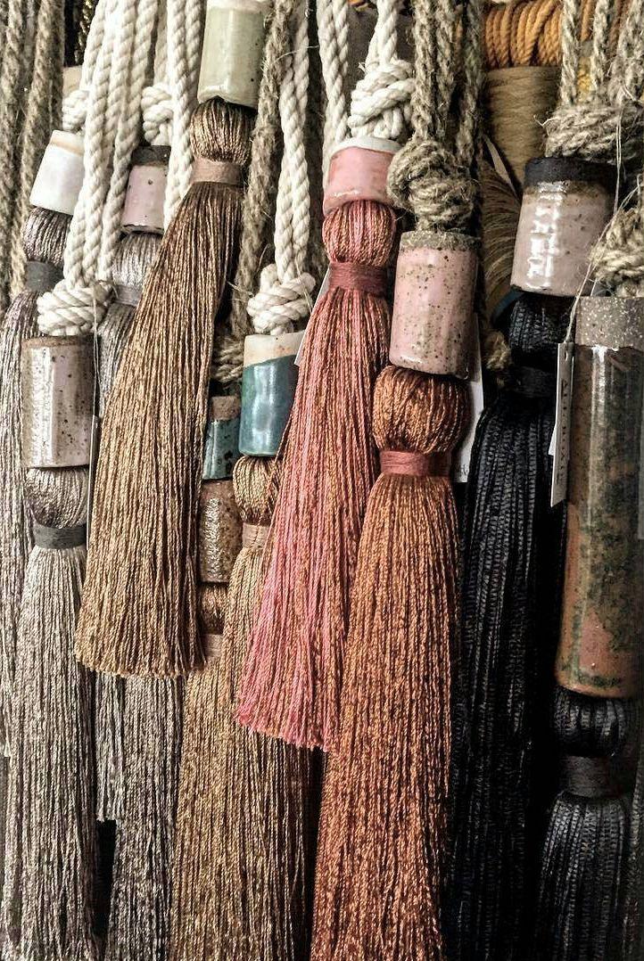 All Roads Silk Tassels