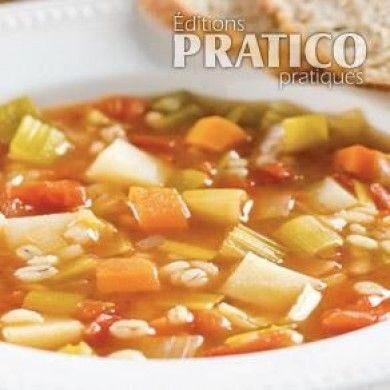 Soupe aux légumes et à l'orge - Recettes - Cuisine et nutrition - Pratico Pratique