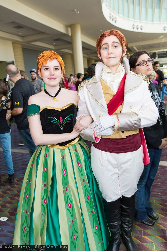 Princess Anna and Prince Hans from Frozen