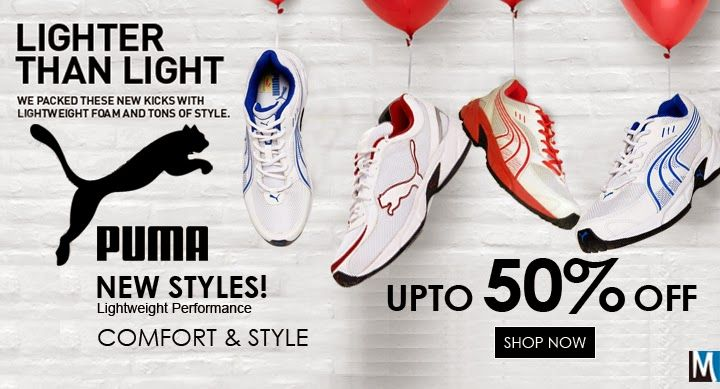 Boost Your Run With Puma Sports #Shoes.