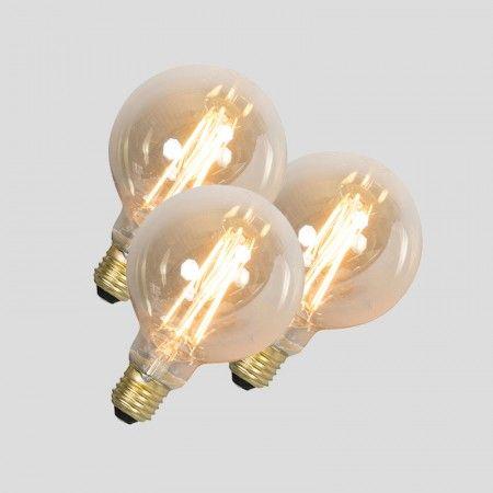 Trend er Set LED Fadenlampe E W lm dimmbar Jetzt noch mehr Vorteile bei Lampen und Leuchten u Erhalten Sie Leuchtmittel zum Preis von