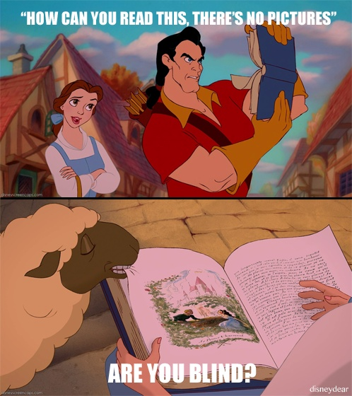 Wow, Gaston....: