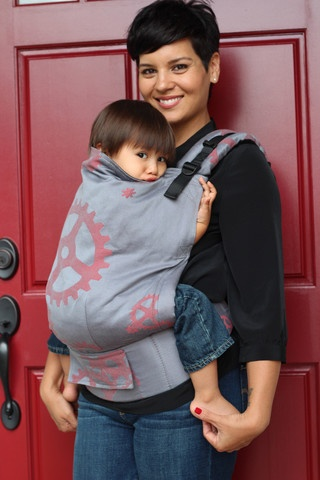 Natibaby Gears (Red) TULA BABY CARRIER