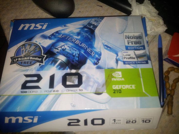 Carte graphique MSI nvedia gefore 210 1 Go DDR3