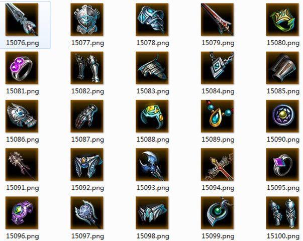 Mega RPG Icon Pack Vol.1 - Asset Store