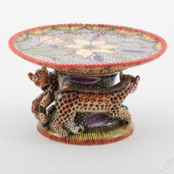 Ardmore Ceramics Leopard Sweet dish