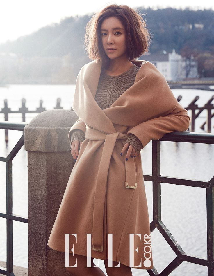 Hwang Jung Eum - Elle Magazine January Issue '16