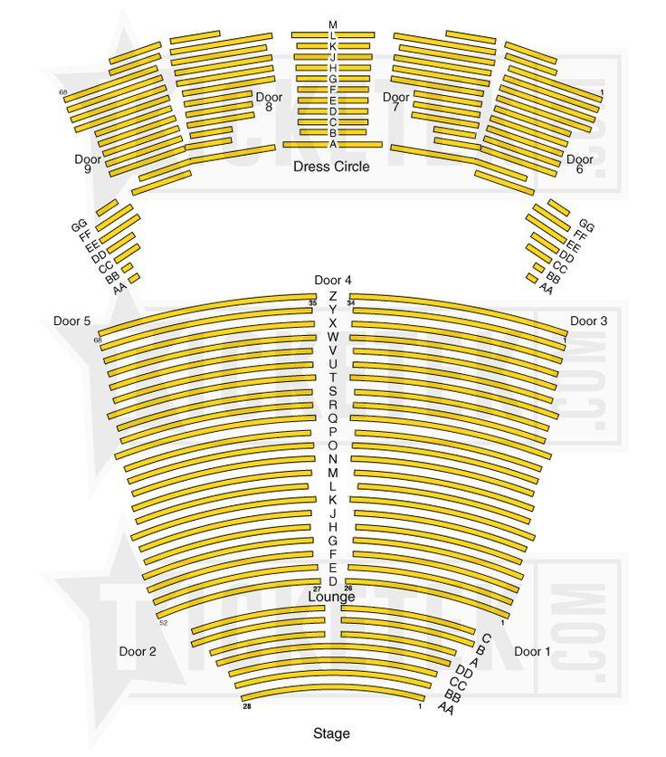 Crown casino seating perth