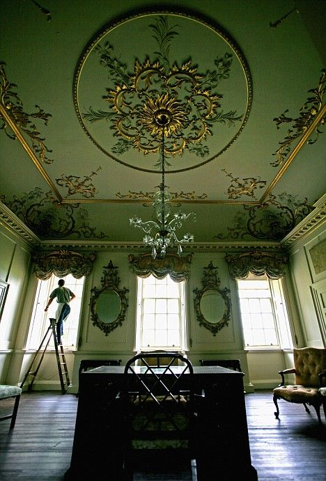 Pictured The Magnificent Interior Of Stately Home Saved