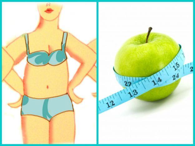 La dieta per il fisico a mela
