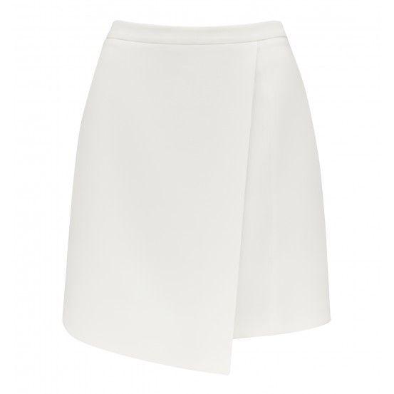 Grace wrap mini skirt