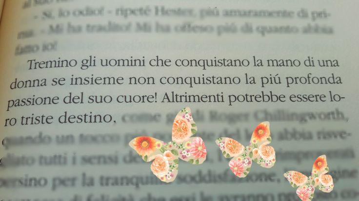 Nathaniel Hawthorne ~ La lettera scarlatta