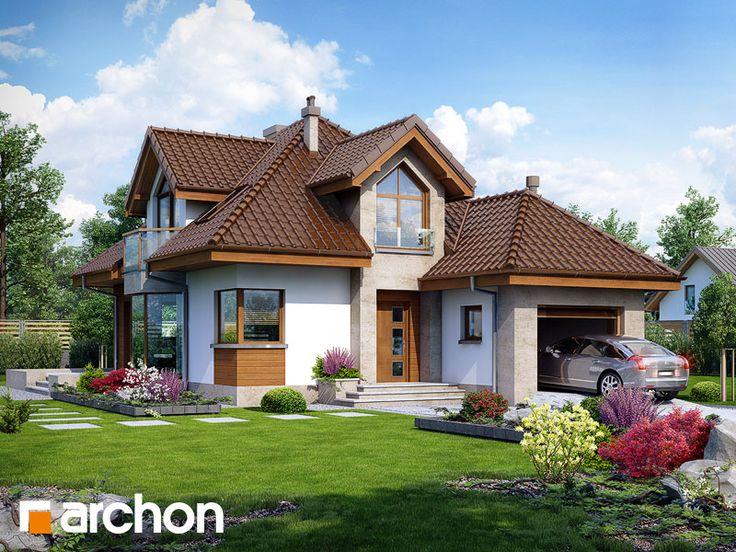 Projekt: Dom w rukoli (N) ver.2 Wizualizacja widok 1