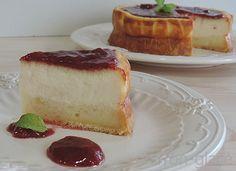¡Toma ya qué receta tan rica! En ella se mezclan a la perfeccin el queso y la leche condensada. Una delicia del blog MARRÓN GLACÉ.