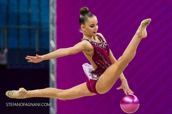 Dina AVERINA (Russia) ~ Ball @ World Cup Pesaro-Italy   Stefanofagnani.com