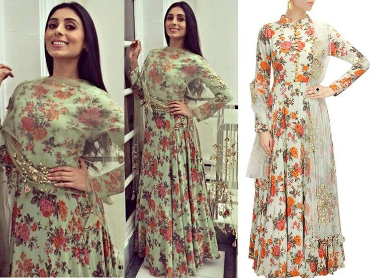 GET THIS LOOK  Super stunning and multi-talented Pernia Qureshi in statement floral print anarkali by Bhumika Sharma. Shop now: http://www.perniaspopupshop.com/designers/bhumika-sharma  #shopnow #perniaqureshi #celebrityclosets #bhumikasharma