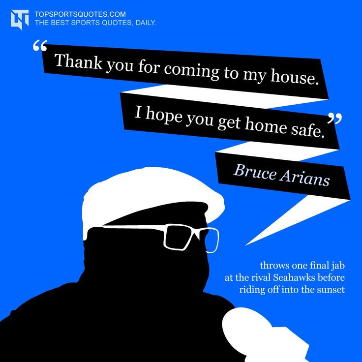 Bruce was always great for a sound bite, and didn't disappoint with one of his last as an NFL coach.  #BruceArians #Cardinals #ArizonaCardinals #NFL #FootballQuotes #SportsQuotes