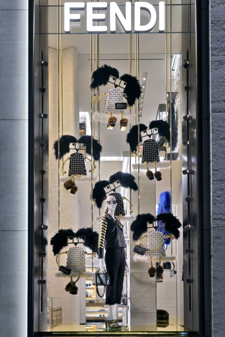 A merry Fendi boutique in Madison Avenue, New York awaits!