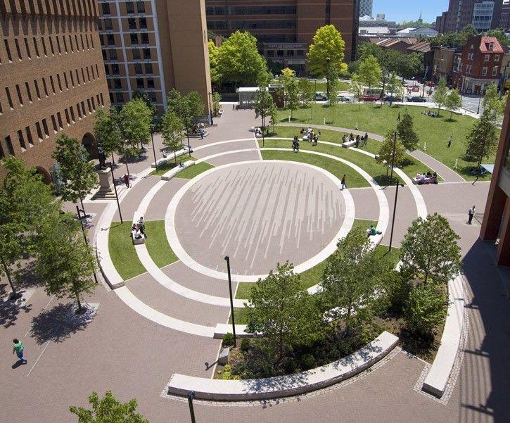 Thomas Jefferson University Lubert Plaza | Landscape Architecture Foundation