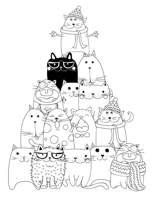 114 best coloriage d 39 animaux animal adult coloring page images on pinterest adult coloring - Dessin d animeaux ...