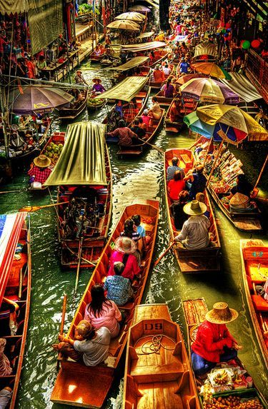 floating market tailandia