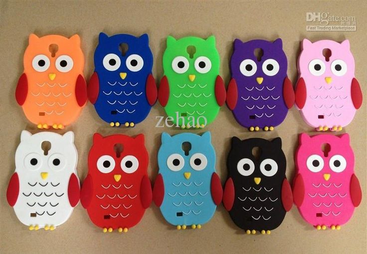 Best Phone Cases 3d Cute Owl Soft Silicone Gel Case For Samsung Galaxy S4 I9500 Rubber Cell Phone Cases Cover Cartoon Bird Skin Custom Cell Phone Case From Zehao, $2.29| Dhgate.Com