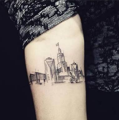 Resultado de imagem para tattoo cidade sao paulo skyline Mais