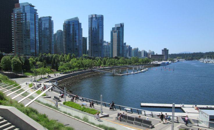 Coal Harbour, Vancouver, BC (June 2014)