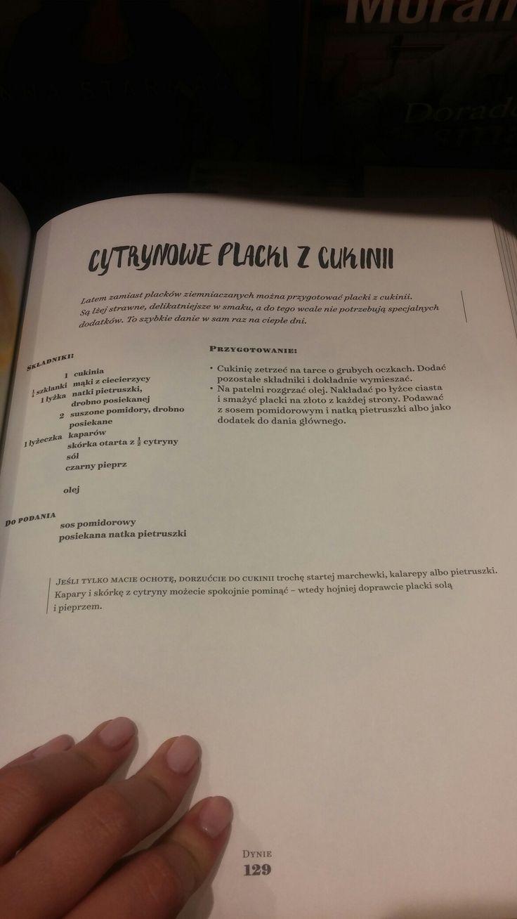 #cytrynowe #placki #cukinia #jadłonomia