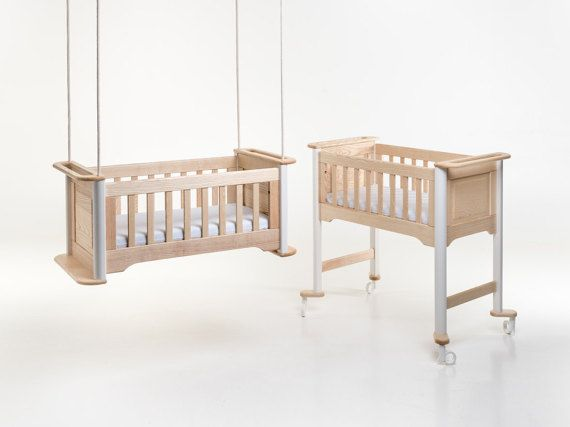 Uniqueness and reliability - a perfect blend of contemporary shaping and sound structural design. minibos cradles are handcrafted using traditional woodworking methods and the finest, sustainably harvested solid hardwood timber from the heart of Europe.