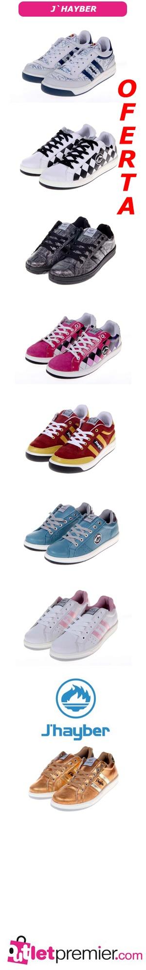 Oferta en zapatillas de #deporte #JHayber, muchos modelos...Precio #increíble conpradas