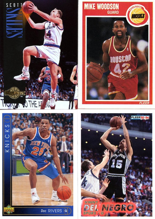 NBA Coaches that used to play in the 90s...I bet I have these cards too~