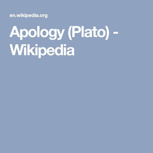 Apology (Plato) - Wikipedia
