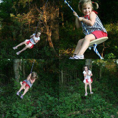 homemade tree swing | Fun Ideas | Pinterest | Trees ...