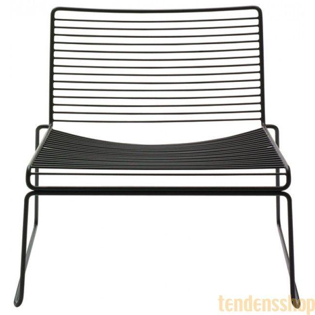 Hee lounge chair - Hay - Læne & liggestole - Udendørs