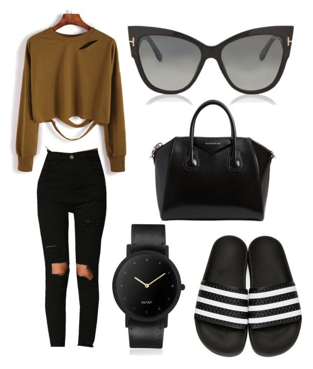 """""""#Humpday"""" by lupekay on Polyvore featuring adidas Originals, Givenchy, South Lane and Tom Ford"""